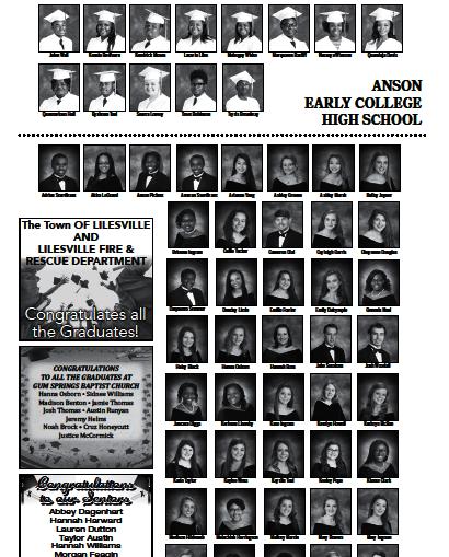 2018 Grad pages