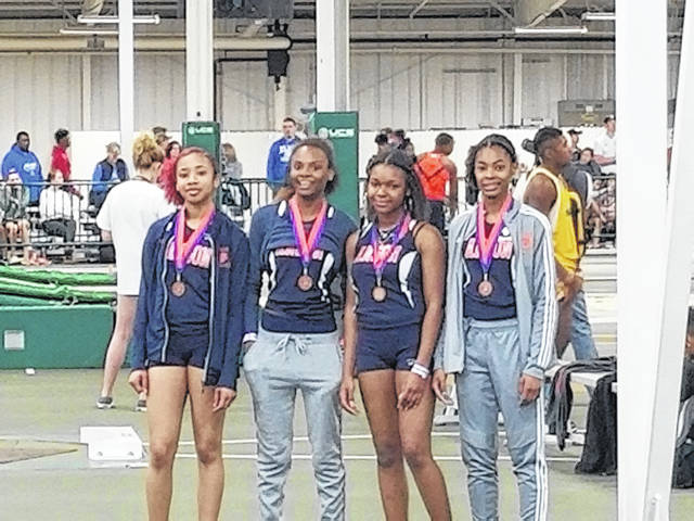 Anson relay team fourth in state