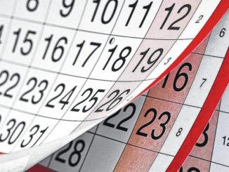 Community calendar