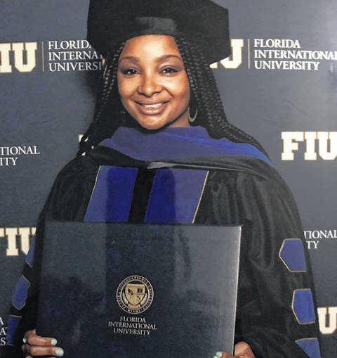 Bennett earns doctorate at Florida International