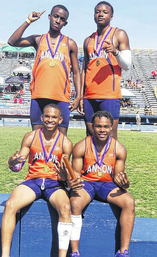 State champs! Quartet runs to 400-meter relay title
