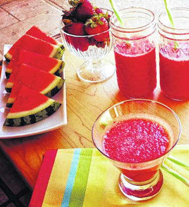 Holiday a good time for this bright, healthy drink