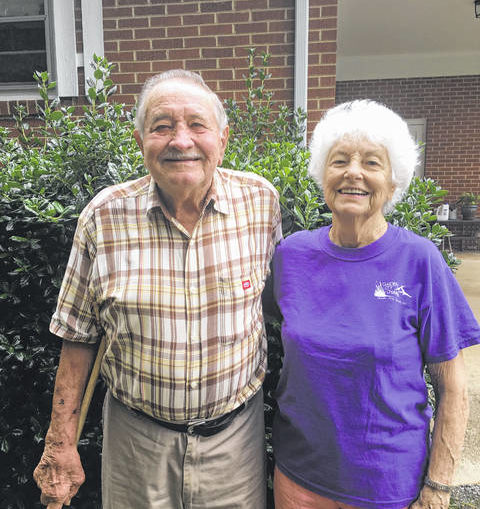 Couple celebrates 67 years of love, marriage