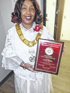 Watkins receives award