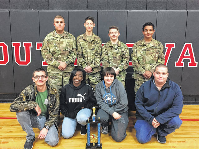 Anson High's Battalion team earns third-place trophy