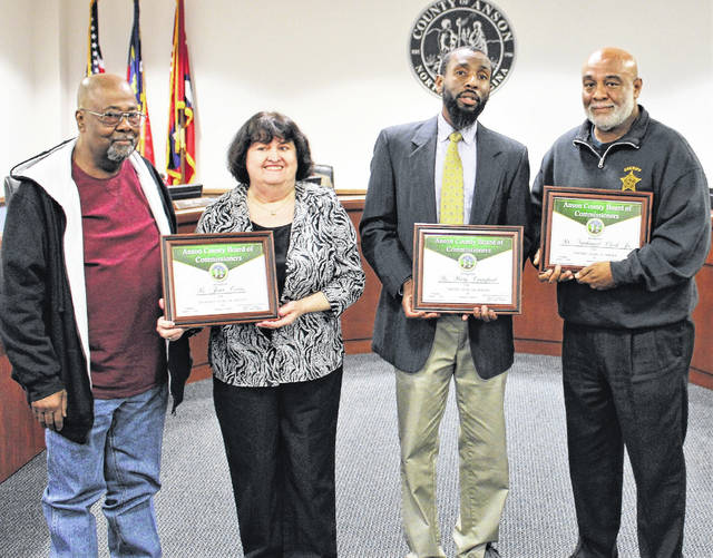Sucessful Search Party Honored By County Anson Record