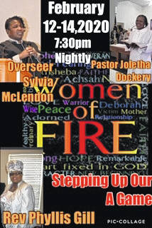 Johnson Chapel Holiness Church gears up for Women Of Fire Revival