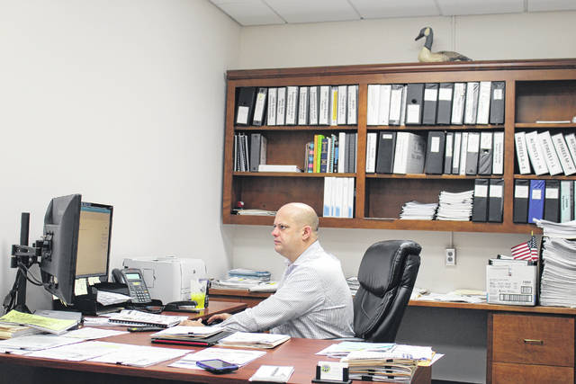 In Anson County, Garner is the man behind the money