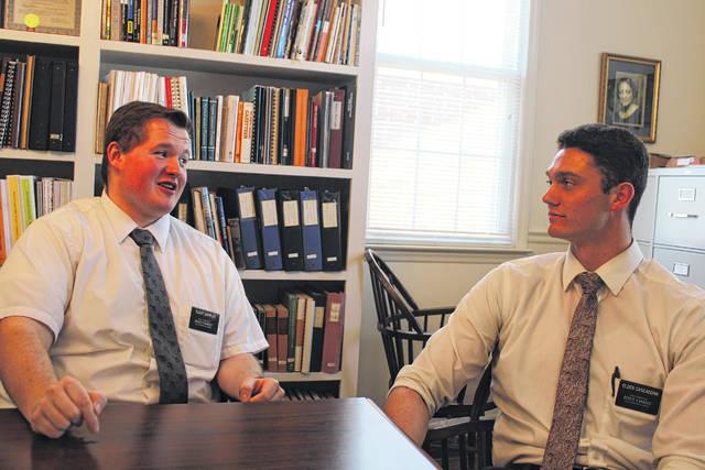 Mormon Missionaries come to Wadesboro