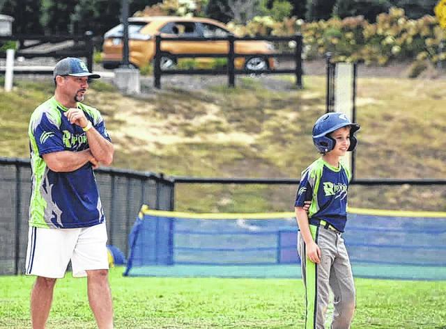 Local coach revitalizes ballfield