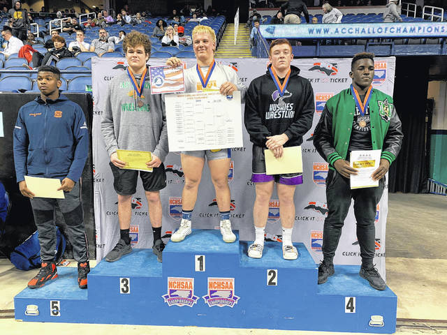 Burns places 5th at states
