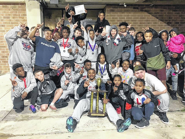 Anson Middle School wrestlers win conference tournament.