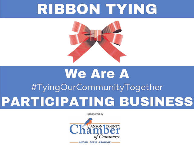 Chamber to host Ribbon Tying event for community