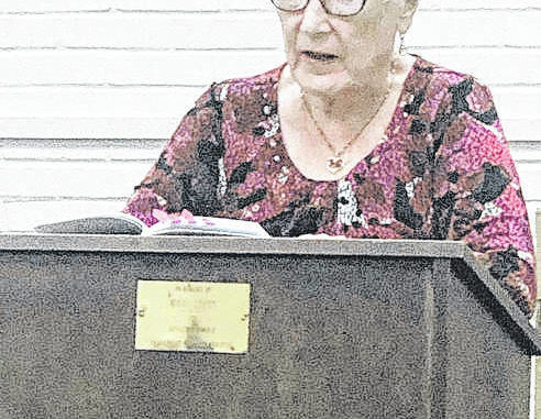 Sandra Bruney is the founder of the Anson County Writer's club and has written three historical novels set in Anson County.                                  Natalie Davis | The Anson Record