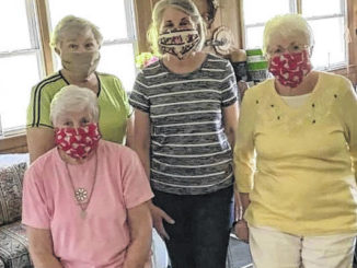 Mask Team produces 2,900 face coverings