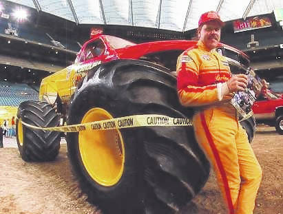 Gary Porter, a monster truck legend