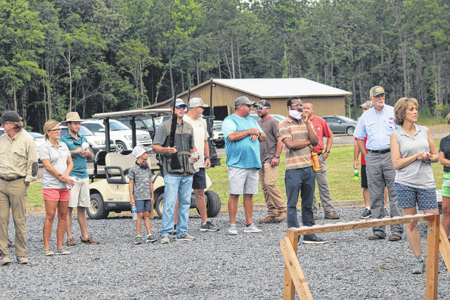 <p>Teams of shooting enthusiasts across the county competed against each other during Clays for Commerce, a fundraiser hosted by the Anson County Chamber of Commerce at Four Branches Sporting Preserve on Friday, July 24.</p>                                 <p>Throughout the competition, Four Branches staff ensured that all proper gun safety and CDC regulations were properly practiced</p>