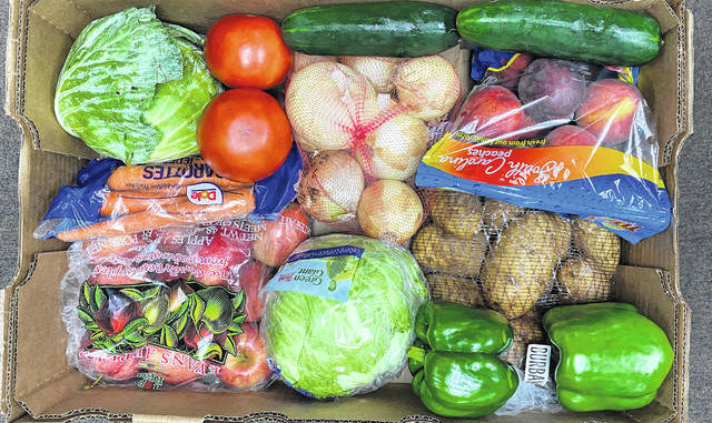 Free boxes of produce will be given out by The Caraway Foundation each Saturday in August beginning August 8.