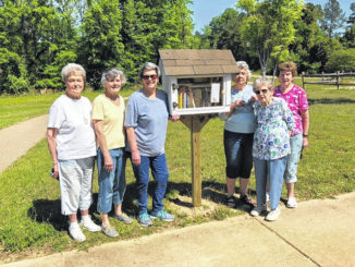 The Anson County Partnership for Children has teamed up with the Hampton B. Allen Library to install Free Little Libraries across Anson County.                                  Courtesy Photo