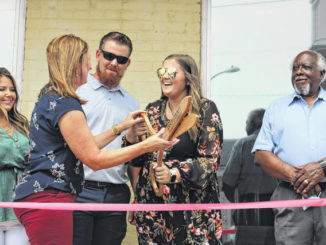 Wadesboro hair studio celebrates opening with ribbon ceremony