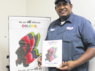 School custodian publishes his first children's book