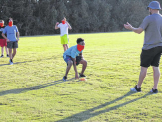 Anson athletes return to campus for optional practice